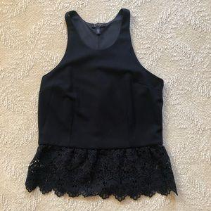 Black Jessica Simpson Lace Top